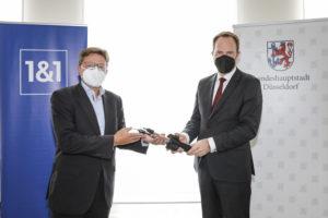 1&1 Versatel ermöglicht mehr als 4.000 Unternehmen in Düsseldorf den Zugang zu Glasfaser